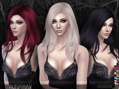 -Almost no transparency issues Found in TSR Category 'Sims 4 Female Hairstyles'