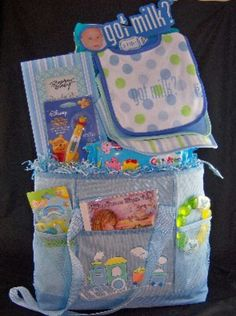 Carousel Dreams CD in a baby gift basket