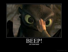 Funny Toothless pic