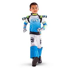 Disney Miles From Tomorrow Costume For Kids | Disney StoreFree Delivery - Transport your little space cadet into a high-tech future with our Miles From Tomorrow costume! It features a printed top and trousers with space boot shoe covers, plus a light-up jet pack and laserang.