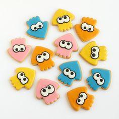 Splatoon Cookies http://ifeelcook.es/splatoon-cookies/ cc @nintendo