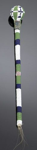 Apache Beaded Club, (2004, American Indian Art Auction / Sept 18-19)