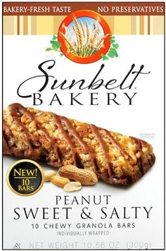 Sunbelt Bakery Sweet  Salty Peanut Granola Bars 10 Ct 3 Pack *** You can get additional details at the image link. Note: It's an affiliate link to Amazon.