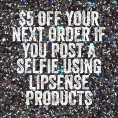Post a selfie on my Facebook page and receive $5 OFF your next order @TimelessEleganceByTara www.senegence.com/TimelessEleganceByTara