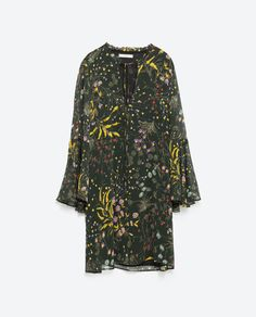 FLORAL PRINT DRESS-View all-Woman-NEW IN   ZARA United States