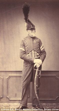 Monsieur Depont of the 1st Hussars...