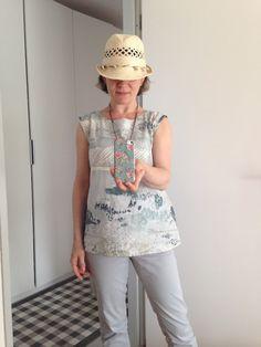 https://flic.kr/p/HteCny | image | Esme Top (Pattern: Lotta Jansdotter; Fabric: Nani Iro)