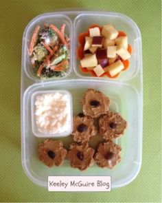 Lunch Made Easy: SunButter Flower Bites  Gluten, Nut, & Peanut Free Lunchbox Ideas for Kids @EasyLunchboxes Allergy Free Recipes, Gourmet Recipes, Easy Lunch Boxes, Recipes From Heaven, Gluten Free Baking, Kid Friendly Meals, Lunchbox Ideas, Kids Meals, Yummy Food