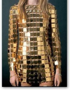 Gold Plated Dress