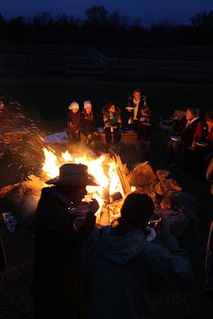 I love bonfires!! :)