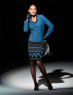 Walkblazer aus reiner Schurwolle in der Farbe ozeanblau - blau - im MADELEINE Mode Onlineshop