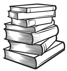 stacked books clipart clip art books black and white bible rh pinterest com black and white comic book clipart read book clipart black and white