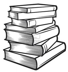Image result for physical books stack