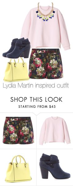 Lydia Martin inspired outfit/Teen Wolf by tvdsarahmichele on Polyvore featuring Monki, Oasis, rag & bone, Victoria Beckham, Humble Chic, TeenWolf, LydiaMartin, tw and HollandRoden