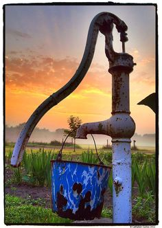 Old farmhouse pump