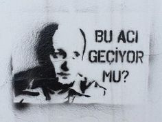 Leyla und Mecnun – Zeynep Karayiğit – Willkommen bei Pin World Stencil Graffiti, Where Is My Mind, Sad Pictures, Magic Words, Karma, Texts, Stencils, Nostalgia, Writing