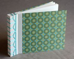 Japanese stab stitch book binding tutorial