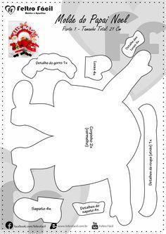 Santa and Mama Claus FREE Template Santa and Mama Claus FREE Template - everyone in the world of felt just like me, loves to make Chris. 1st Christmas, Christmas Crafts, Christmas Ornaments, Felt Decorations, Christmas Decorations, Felt Crafts, Diy And Crafts, Christmas Templates, Felt Patterns