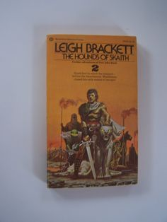 053d60a0 Easter Basket-The Hounds of Skaith-Paperback- Leigh Brackett- Eric John  Stark-First Printing-1974- retirement gift-Fathers Day