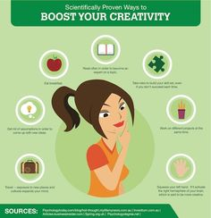 19 Scientifically Proven Ways to Boost Your Creativity by Ana Q.