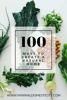 How to create a natural, green home.