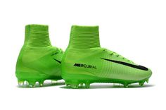 Nike Mercurial Superfly V FG - Electric Green / Black Soccer Cleats