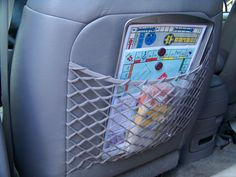 Do-it-yourself board games for the car!  http://choosetothrive.blogspot.com/2011/07/summer-road-trip-2-diy-travel-games.html