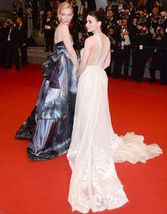 Altın Palmiye sahibini buldu - Hürriyet Keyif En İyi Kadın Oyuncu ödülünün bir diğer sahibi olan Rooney Mara,  Carol filminde başrolü Cate Blanchett ile paylaşıyordu.