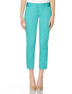 I have these in every color!  Sateen Pencil Pants from THELIMITED.com