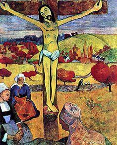Paul Gauguin, Il Cristo giallo, 1889