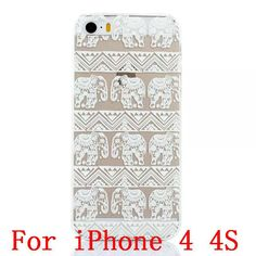 2016 New Plastic Hard Back Case Cover For iPhone 4 4S 4g 5 5S 5g SE HENNA OJIBWE DREAM CATCHER Ethnic Tribal