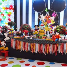 Fiesta Tema Mickey Mouse