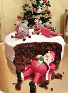 Awesome Christmas Cake Decorating Ideas For You - Weihnachten - Cake