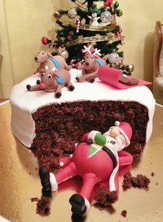 Tarta de navidad de One Sweet. #onesweet