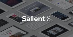 Salient is an impressive WP theme which incorporates perfect blend of features and styles that helps users to best showcase business and personal projects. It is a feature rich WP theme which provides users with just the best platform to get started with their website in matter of no time.   #blog #business #clean #creative #css3 #isotope #localization #minimal #modern #parallax #photography #portfolio