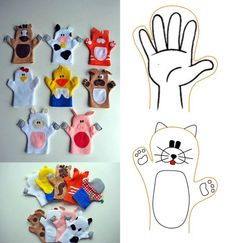 Looking for an idea to change the decoration of your living room? Felt Puppets, Puppets For Kids, Hand Puppets, Puppet Patterns, Felt Patterns, Diy First Aid Kit, Weaving For Kids, Puppet Crafts, Operation Christmas Child