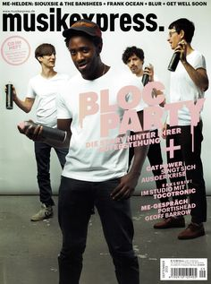 Bloc Party on Musikexpress