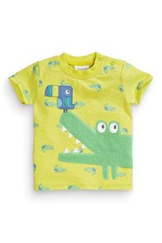 Buy Crocodile Appliqué T-Shirt (0-18mths) from the Next UK online shop