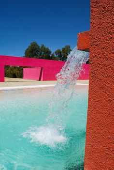 One of my favorite - Mexican architect Luis Barragán-designed house.
