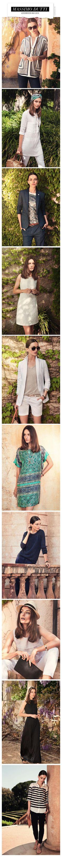Andreea Diaconu for Massimo Dutti Lookbook Mai 2013