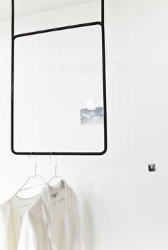 handmade hanger by Annaleena Interior Architecture, Interior Design, Hanging Rail, Closet Space, Minimal Design, Home Bedroom, Dressing, Interior Inspiration, Home Accessories