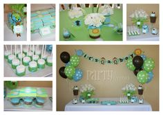 Baby Shower-for baby boy - great colors!