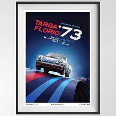 Celebrate Porsche's victory at the 1973 Targa Florio ..with Gijs van Lennep