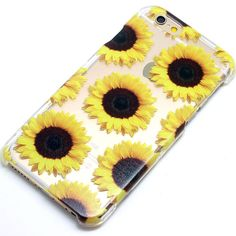 Sunflower Floral Pattern Yellow Henna Style Phone Case iPhone 6, 6 Plus, 5, 5C, 5S, Galaxy S4, S5, S6, Note 4