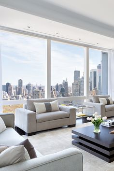 "livingpursuit: ""Breathtaking Apartment in New York 