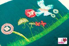 Fertig ist die Blumenwiese von smilla