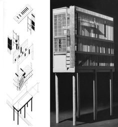 TANNER LEDDY MAYTUM STACY ARCHITECTS, LIVE-WORK HOUSE IN SAN FRANCISCO, 1991
