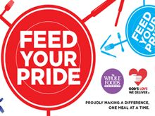 #FeedYourPride with @wholefoodsnyc at the 43rd Annual Heritage of Pride March! @NYCPride  God's Love We Deliver