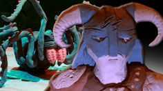 Skyrim Memories - Clay animation #games #Skyrim #elderscrolls #BE3 #gaming #videogames #Concours #NGC