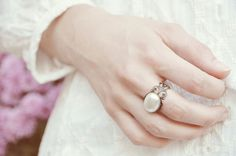 "Vintage Ring ""something classic""  /112 von Madeleine-Issing – Jewels & little lovely Accessoires auf DaWanda.com"